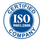 Certified ISO 9001 : 2008 Company